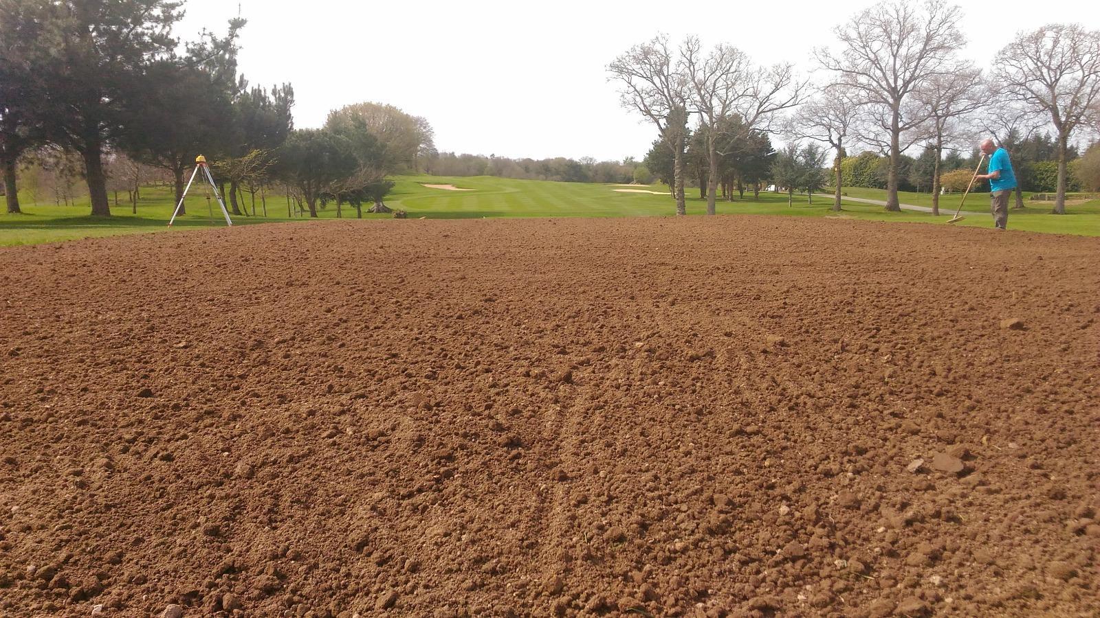rénovations terrain golfs en Normandie | TSE